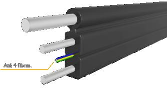 drop compacto uma a quatro fibras